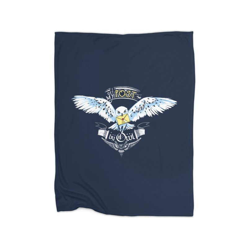 Owl Post Home Blanket by Stuff, By Alan Bao