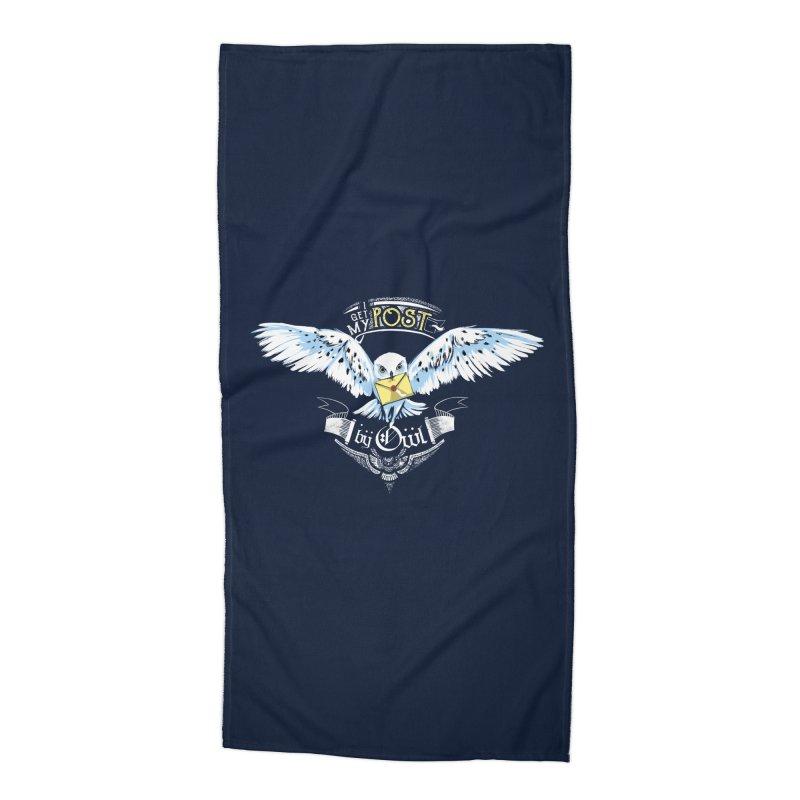 Owl Post Accessories Beach Towel by Stuff, By Alan Bao