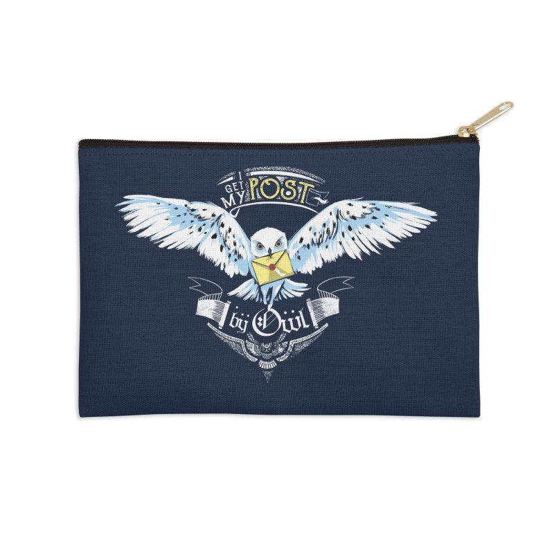 Owl Post Accessories Zip Pouch by Stuff, By Alan Bao