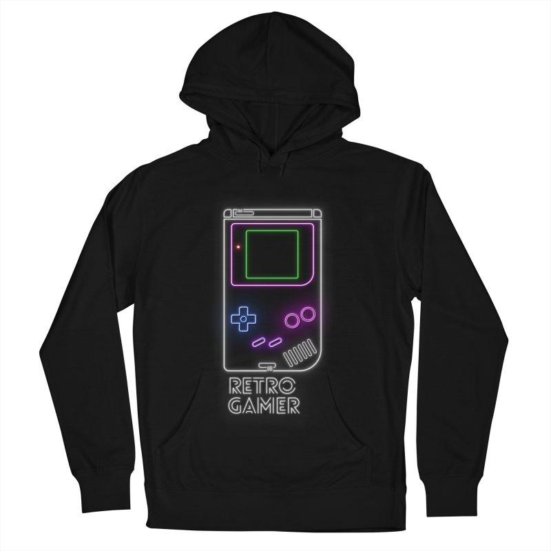 Retro Gamer Men's Pullover Hoody by Stuff, By Alan Bao