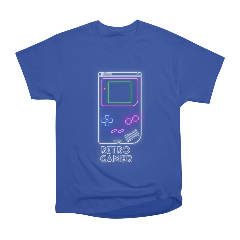 Retro Gamer Men's Heavyweight T-Shirt by Stuff, By Alan Bao