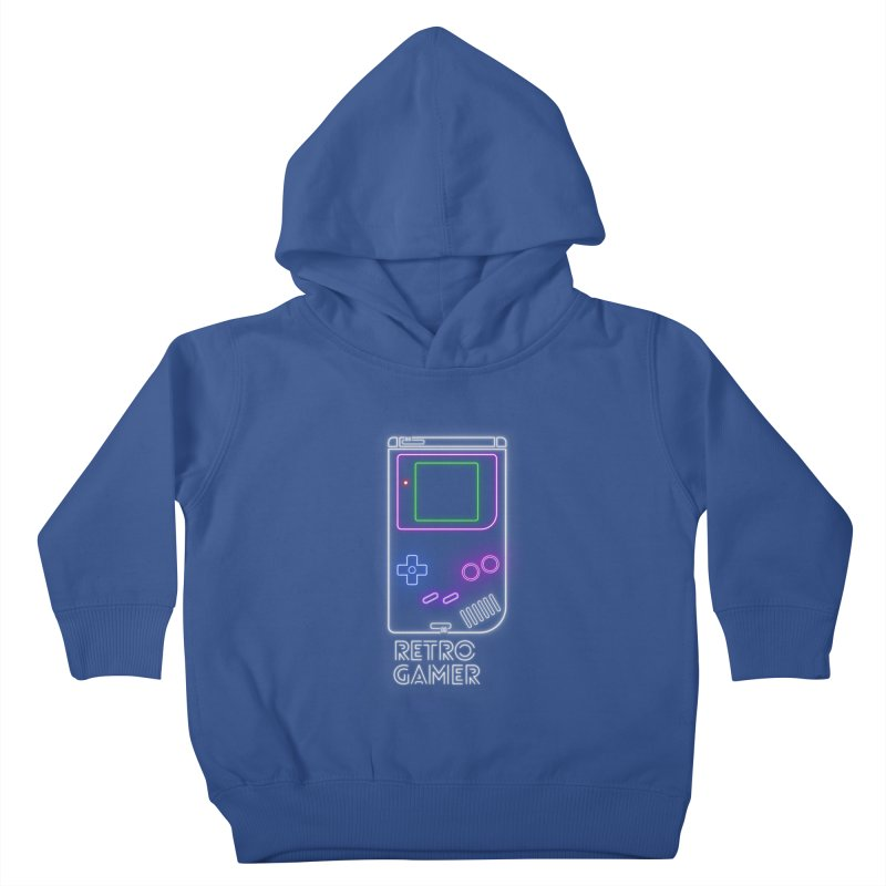 Retro Gamer Kids Toddler Pullover Hoody by Stuff, By Alan Bao