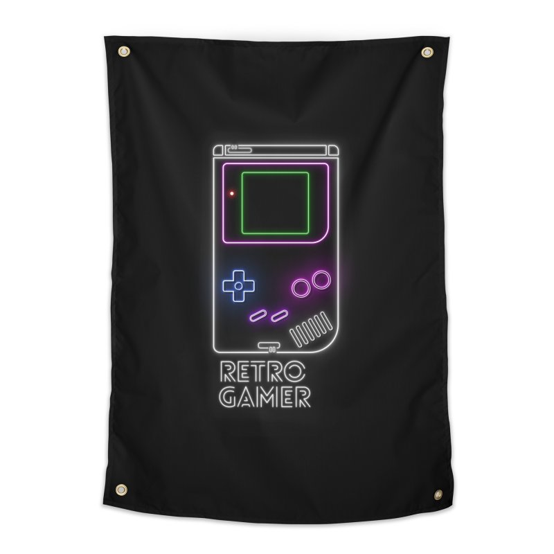 Retro Gamer Home Tapestry by Stuff, By Alan Bao