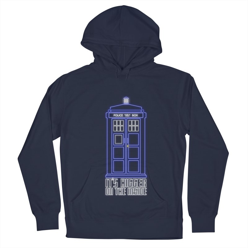 It's Bigger On The Inside Men's Pullover Hoody by Stuff, By Alan Bao