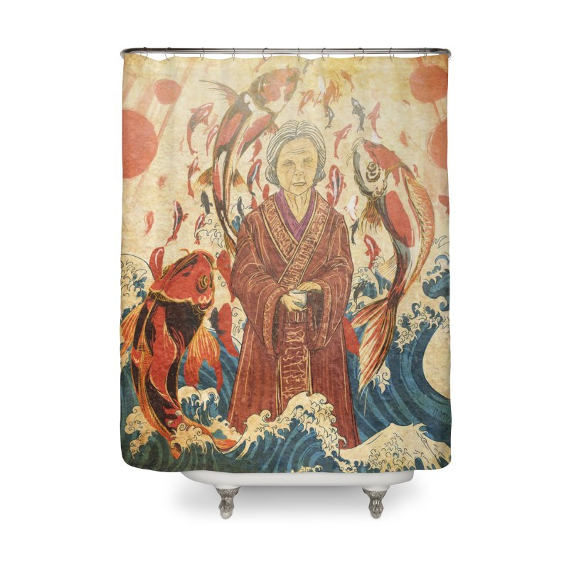 The Last Cheng Ben Gift Home Shower Curtain by Stuff, By Alan Bao