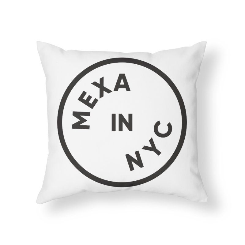 New York City Home Throw Pillow by Mexa In NYC