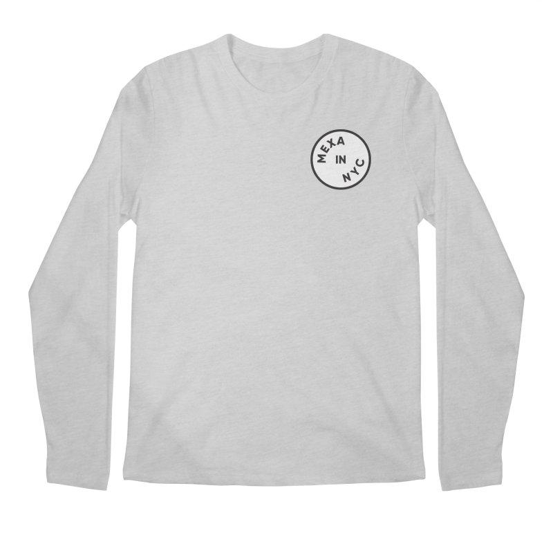 New York City Men's Regular Longsleeve T-Shirt by Mexa In NYC