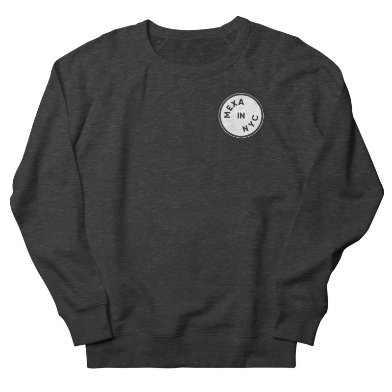 New York City Men's French Terry Sweatshirt by Mexa In NYC