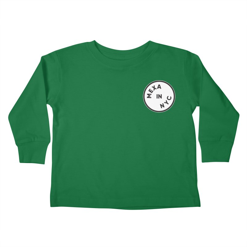 New York City Kids Toddler Longsleeve T-Shirt by Mexa In NYC