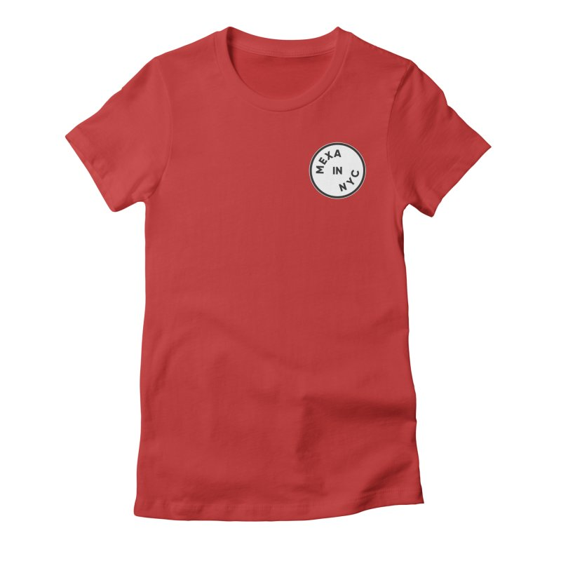 New York City Women's Fitted T-Shirt by Mexa In NYC