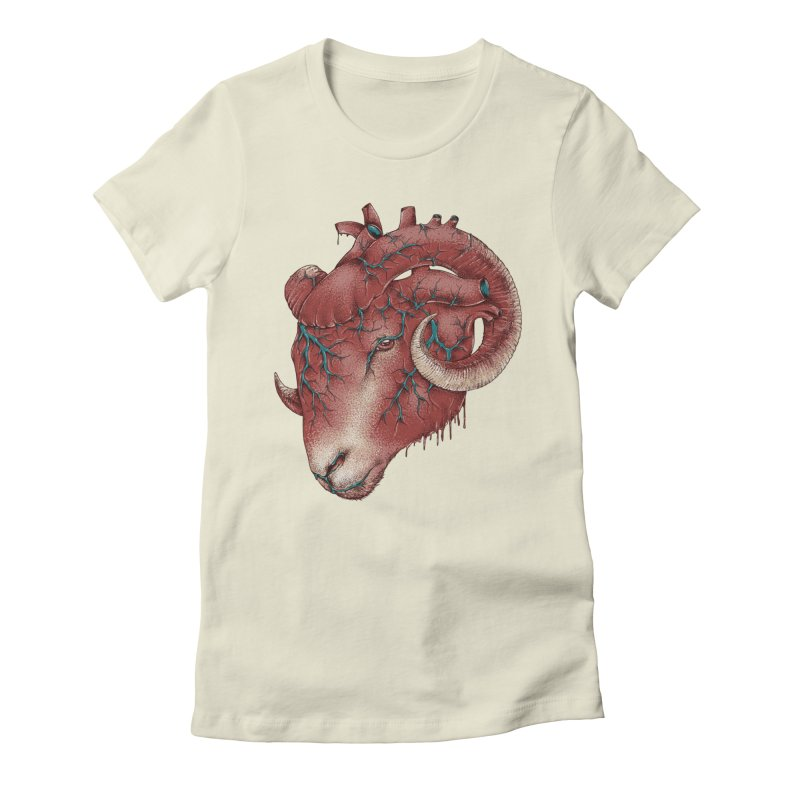 Heart Women's Fitted T-Shirt by alanmaia's Artist Shop