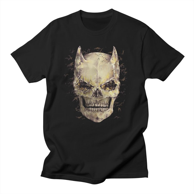 Bat Skull Men's T-shirt by alanmaia's Artist Shop