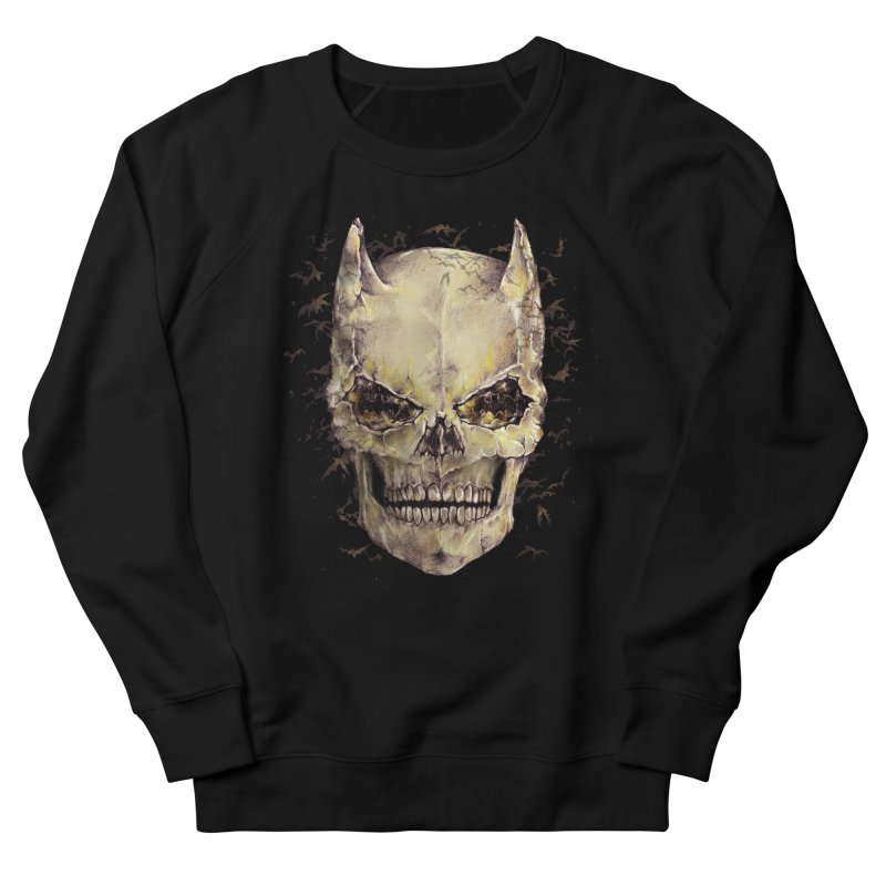 Bat Skull Men's Sweatshirt by alanmaia's Artist Shop