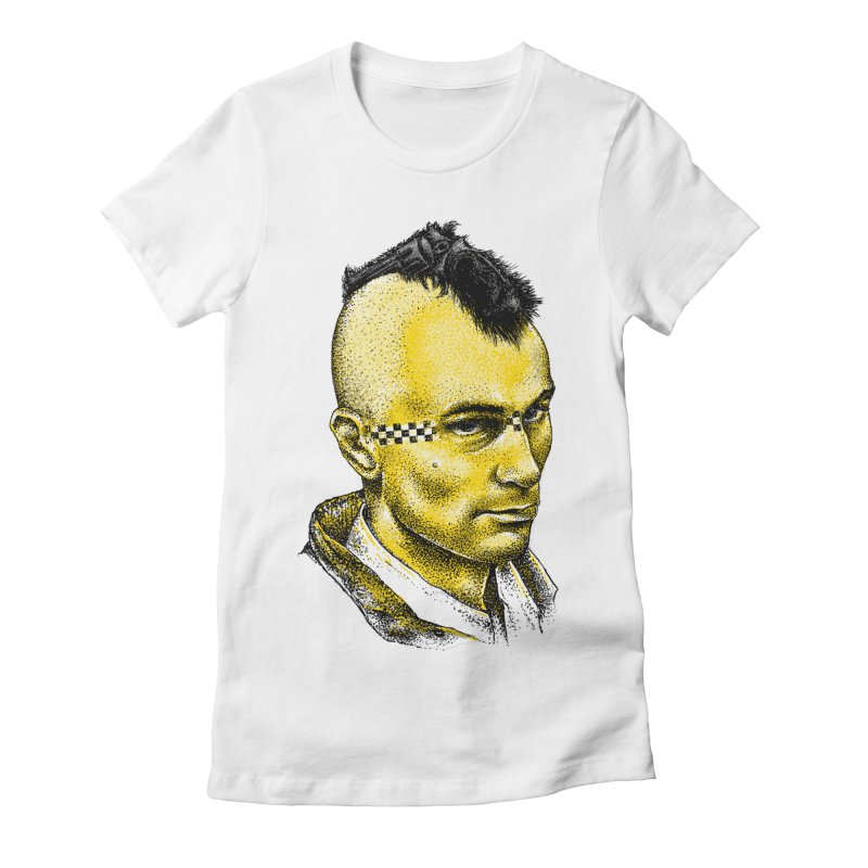 Driver Women's Fitted T-Shirt by alanmaia's Artist Shop