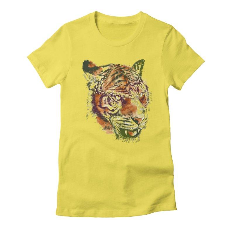 Hidden Women's Fitted T-Shirt by alanmaia's Artist Shop