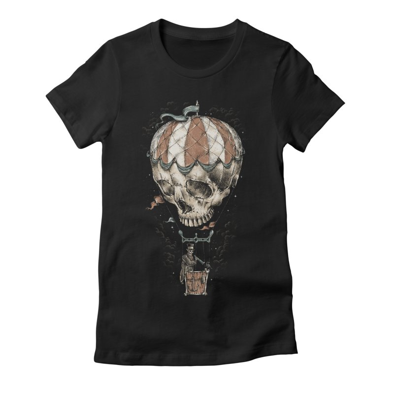 Journey Women's Fitted T-Shirt by alanmaia's Artist Shop
