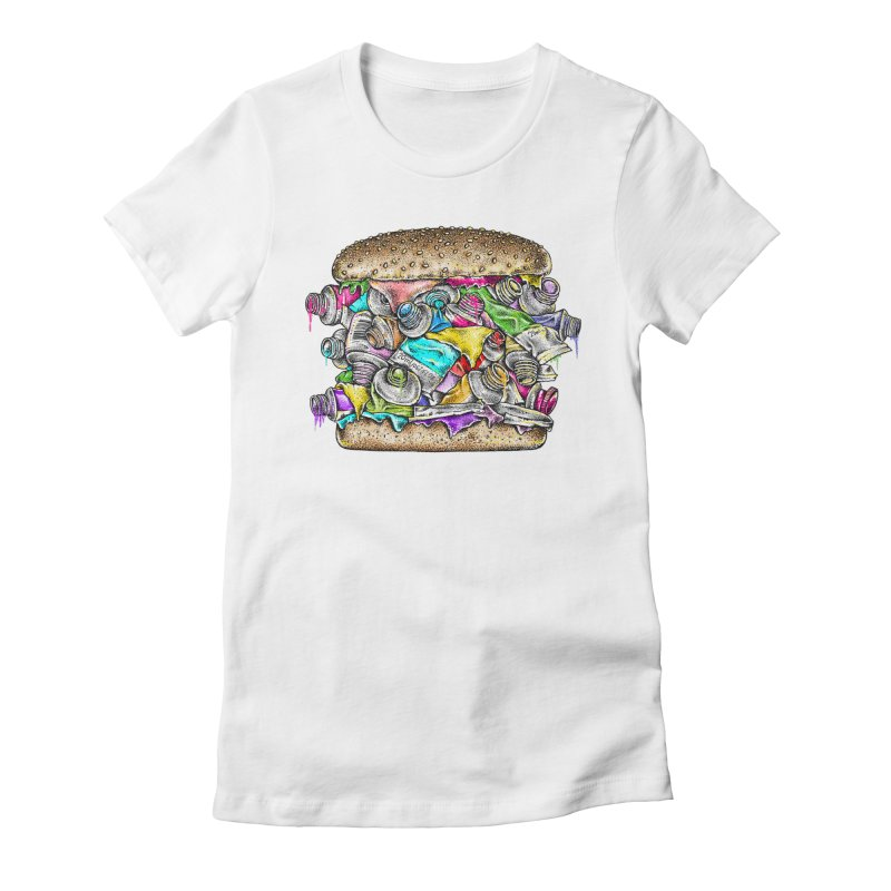 X-Colors Women's Fitted T-Shirt by alanmaia's Artist Shop