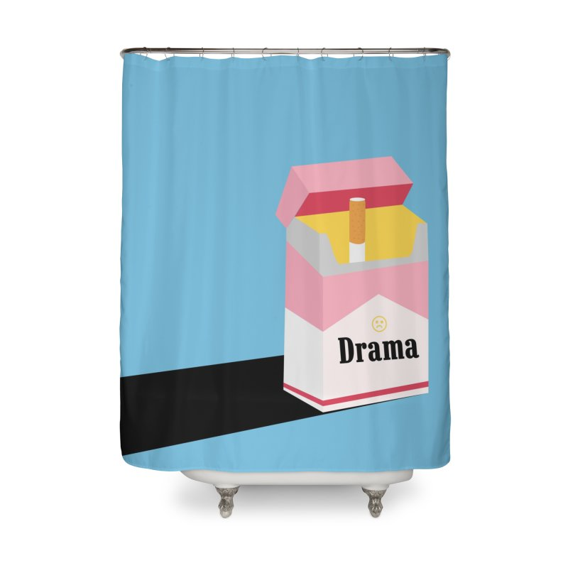 drama Home Shower Curtain by albablazquez's Artist Shop