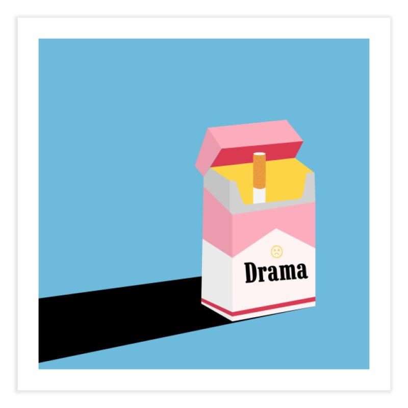drama Home Fine Art Print by albablazquez's Artist Shop