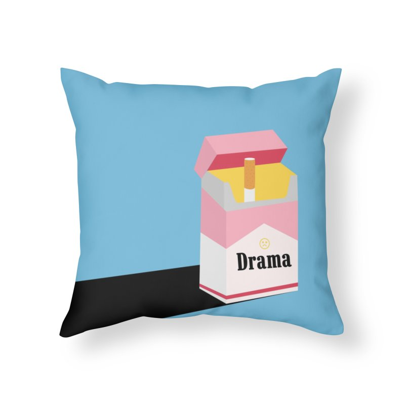 drama Home Throw Pillow by albablazquez's Artist Shop
