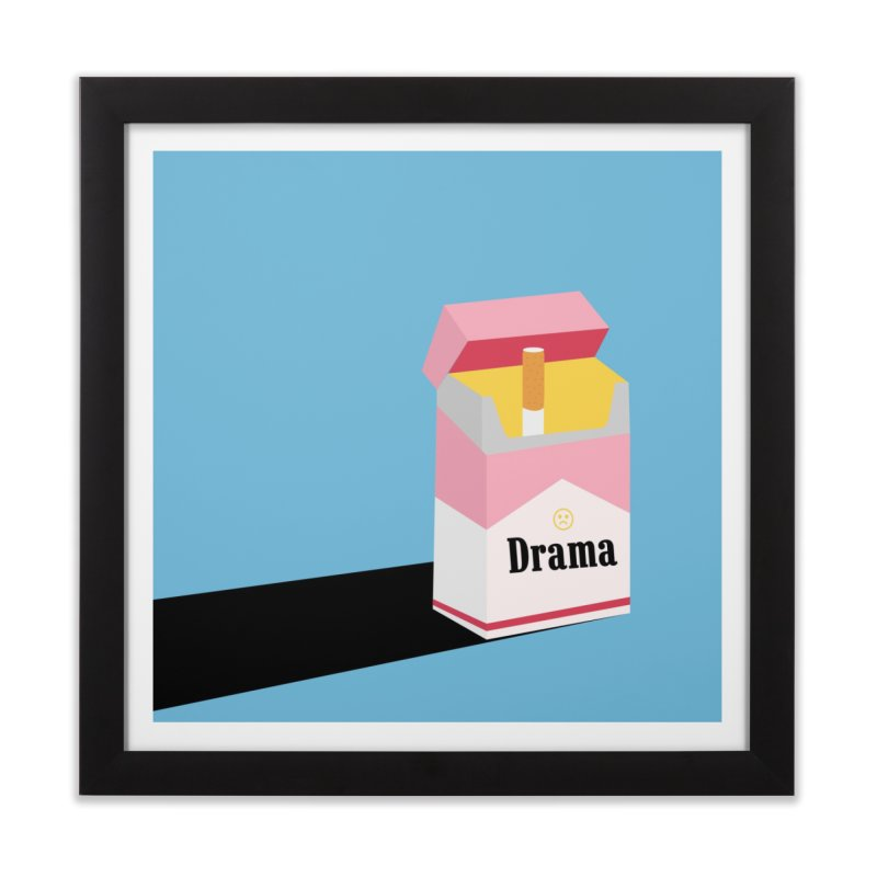 drama Home Framed Fine Art Print by albablazquez's Artist Shop