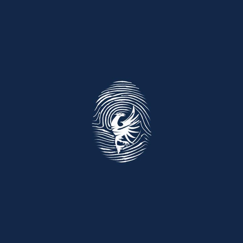 Shqiponja Fingerprint Accessories Bag by ylllenjani.com