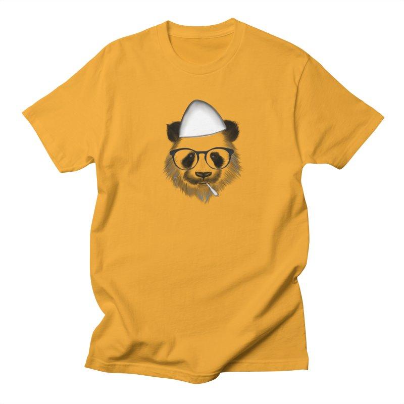 Panda me Plis Men's T-Shirt by ylllenjani.com