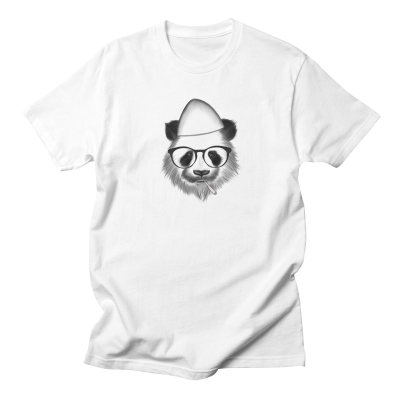 Panda me Plis Men's T-Shirt by ylllenjani.com