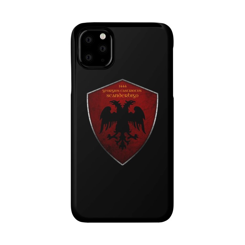 Mburoja Scanderbeg Accessories Phone Case by ylllenjani.com