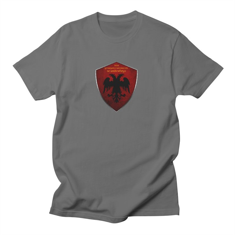 Mburoja Scanderbeg Men's T-Shirt by ylllenjani.com
