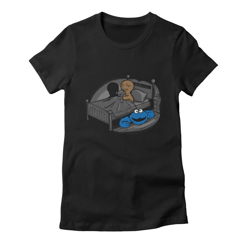 Boogieman Women's Fitted T-Shirt by alberto83aj's Artist Shop