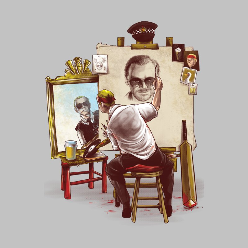 Triple Cornetto Trilogy   by Alberto Arni's Artist Shop