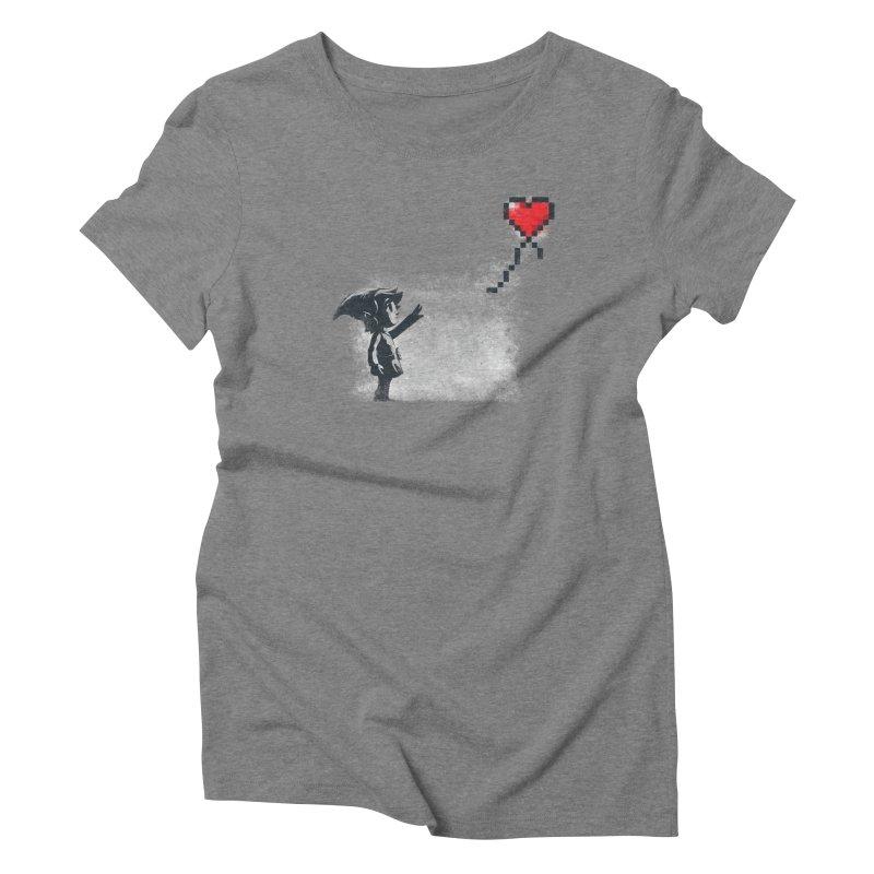 Linksy Women's Triblend T-Shirt by Alberto Arni's Artist Shop