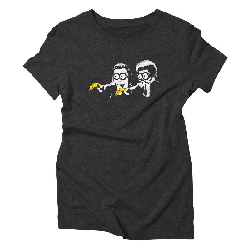 Banana Fiction Women's Triblend T-Shirt by Alberto Arni's Artist Shop