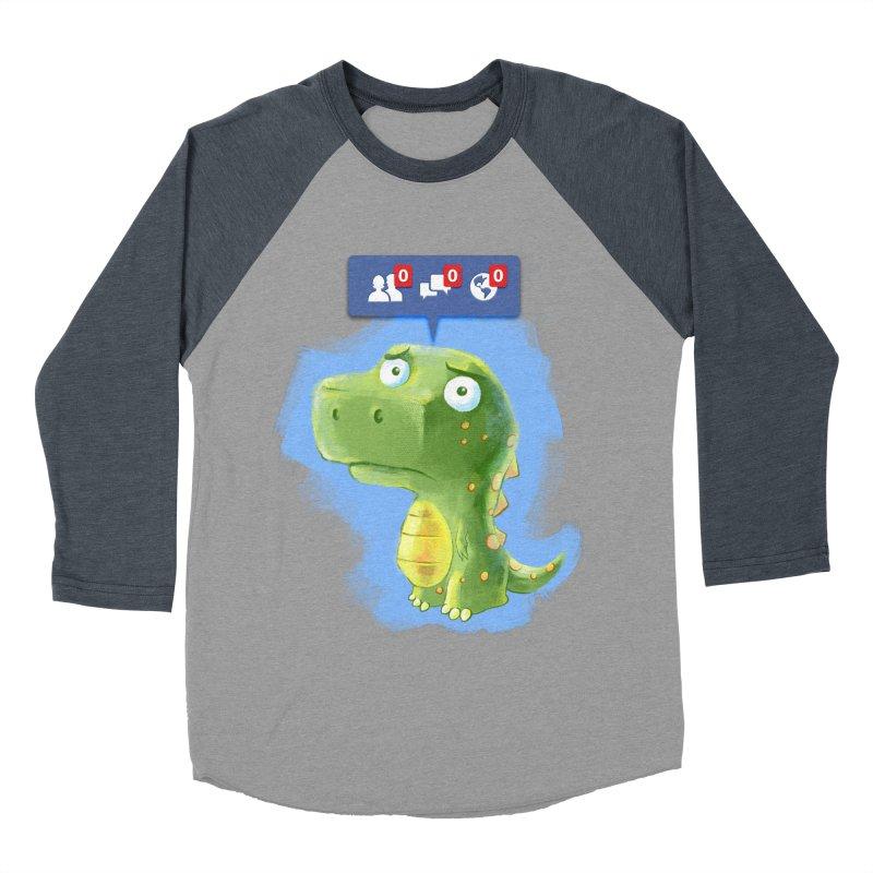 Extinct Friends Men's Baseball Triblend T-Shirt by Alberto Arni's Artist Shop