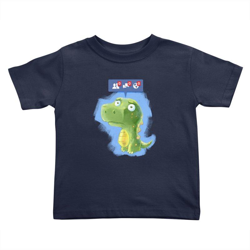 Extinct Friends Kids Toddler T-Shirt by Alberto Arni's Artist Shop