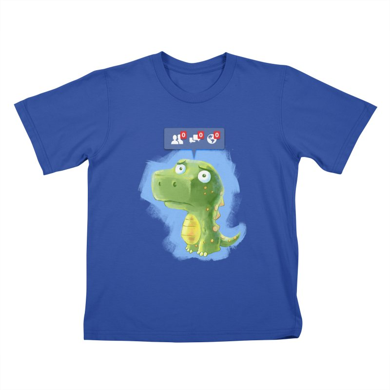 Extinct Friends Kids T-shirt by Alberto Arni's Artist Shop
