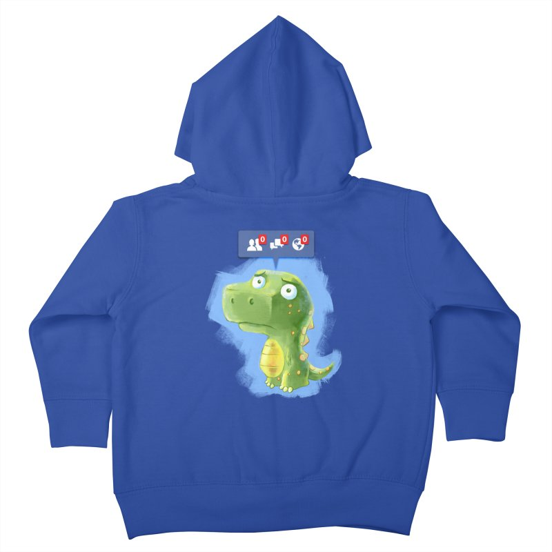 Extinct Friends Kids Toddler Zip-Up Hoody by Alberto Arni's Artist Shop