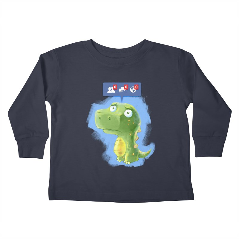 Extinct Friends Kids Toddler Longsleeve T-Shirt by Alberto Arni's Artist Shop