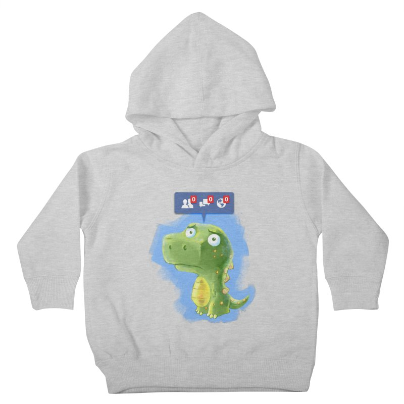 Extinct Friends Kids Toddler Pullover Hoody by Alberto Arni's Artist Shop