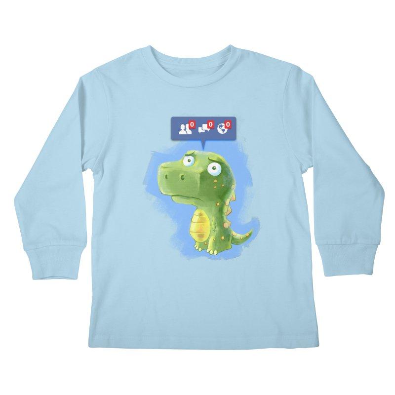 Extinct Friends Kids Longsleeve T-Shirt by Alberto Arni's Artist Shop