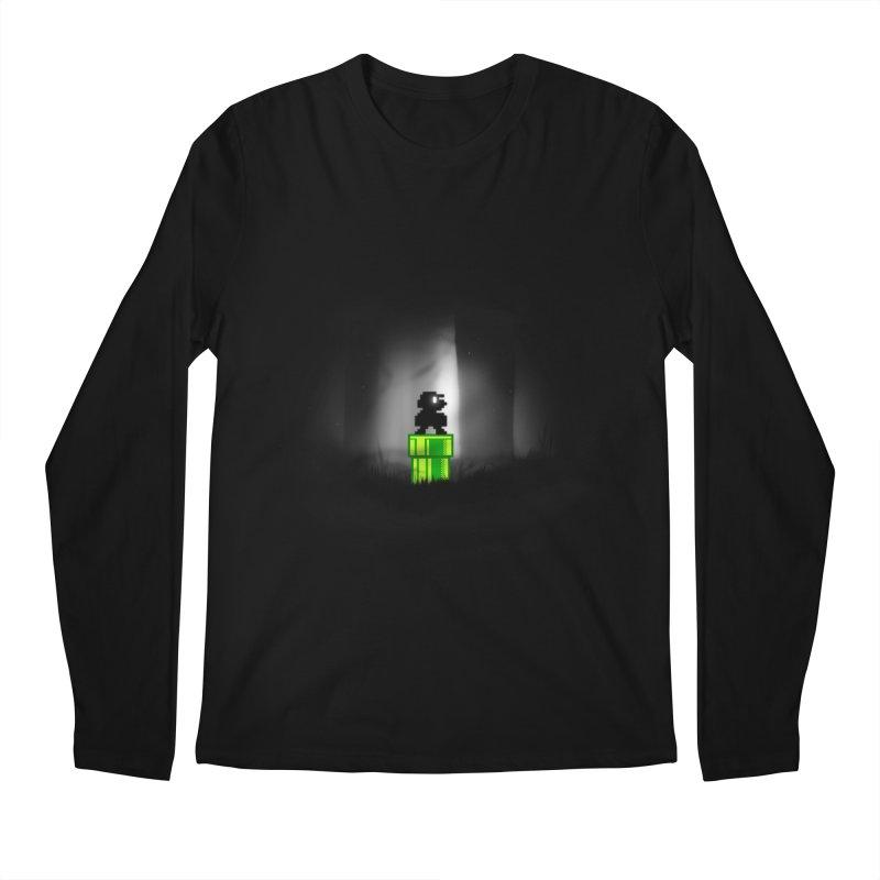 Wrong Pipe Men's Longsleeve T-Shirt by Alberto Arni's Artist Shop