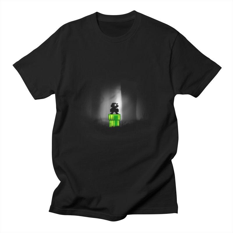 Wrong Pipe Men's T-shirt by Alberto Arni's Artist Shop