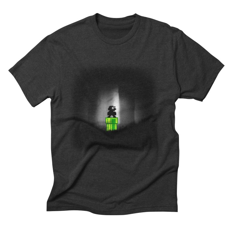 Wrong Pipe Men's Triblend T-Shirt by Alberto Arni's Artist Shop