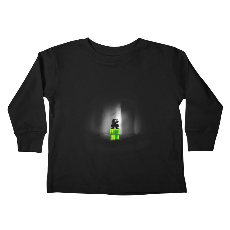 Wrong Pipe Kids Toddler Longsleeve T-Shirt by Alberto Arni's Artist Shop