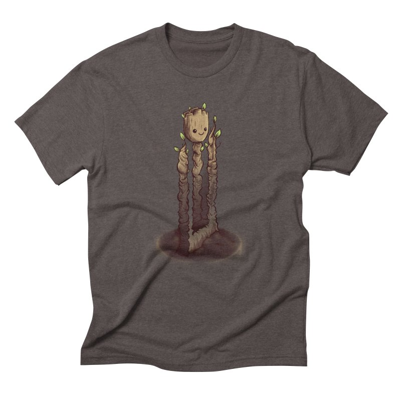 Impossible Root Men's Triblend T-Shirt by Alberto Arni's Artist Shop