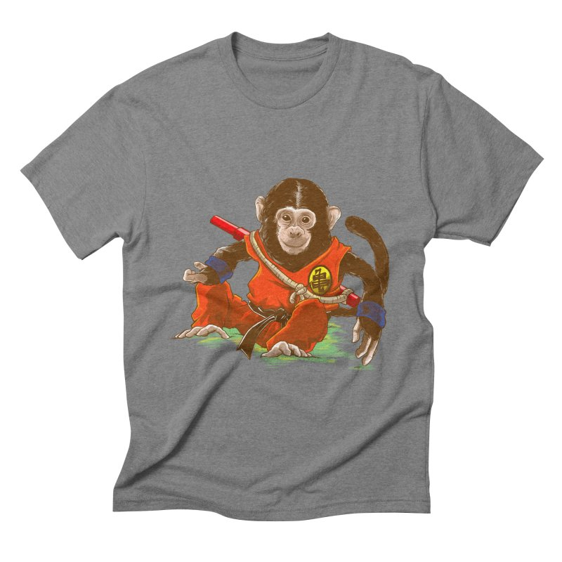 Kakarotto Men's Triblend T-shirt by Alberto Arni's Artist Shop