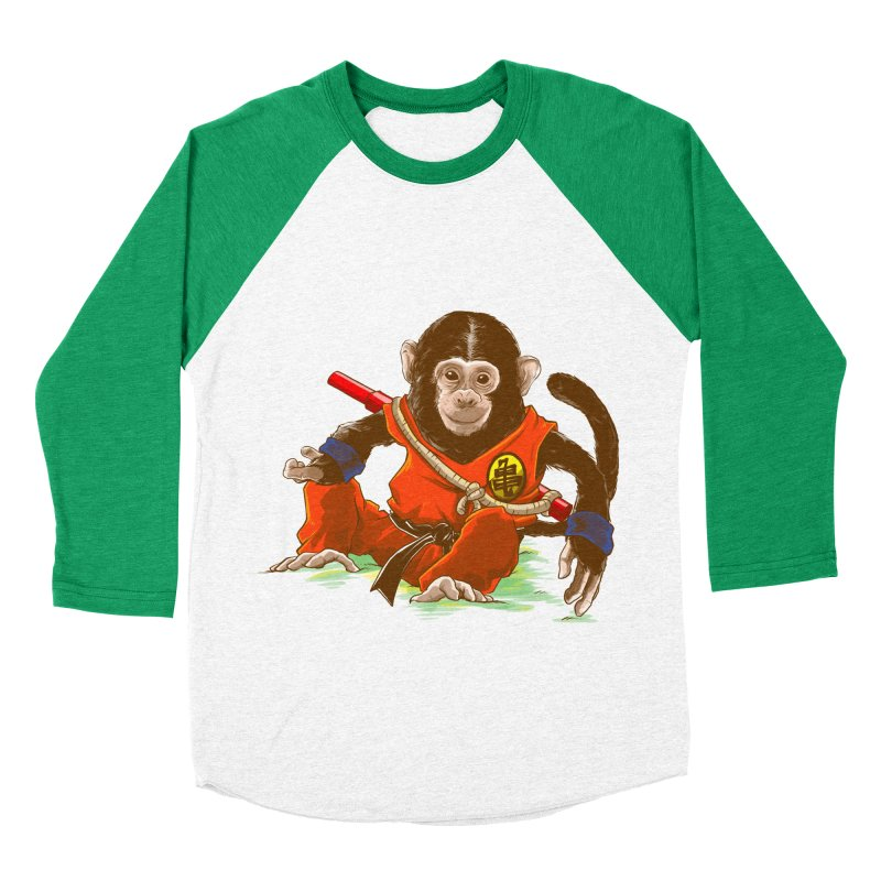 Kakarotto Men's Baseball Triblend T-Shirt by Alberto Arni's Artist Shop