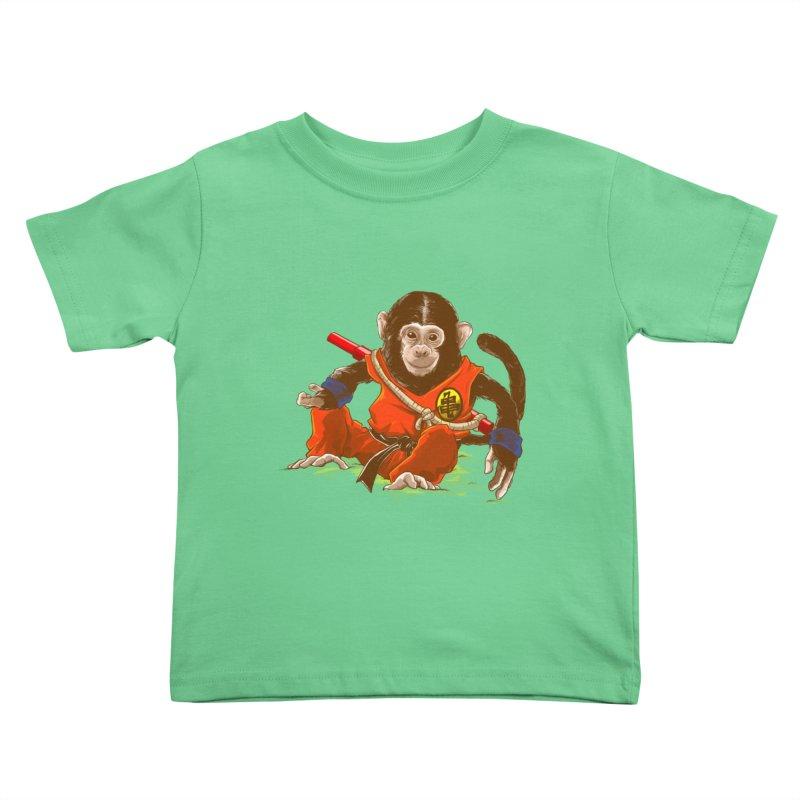Kakarotto Kids Toddler T-Shirt by Alberto Arni's Artist Shop