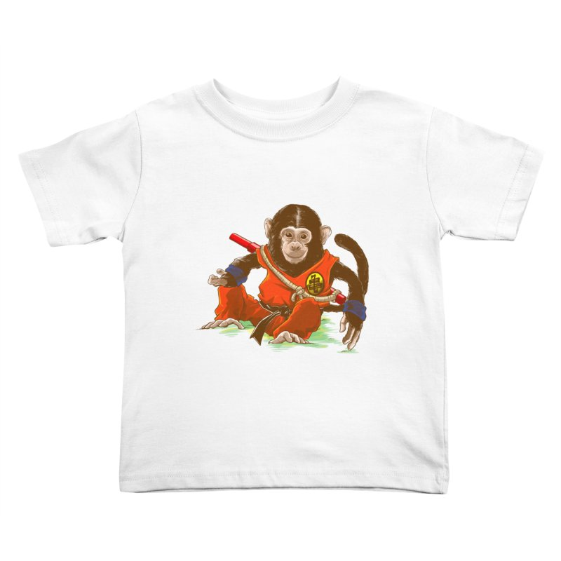 Kakarotto Kids Toddler T-Shirt by Alberto Arni's Artist Shop